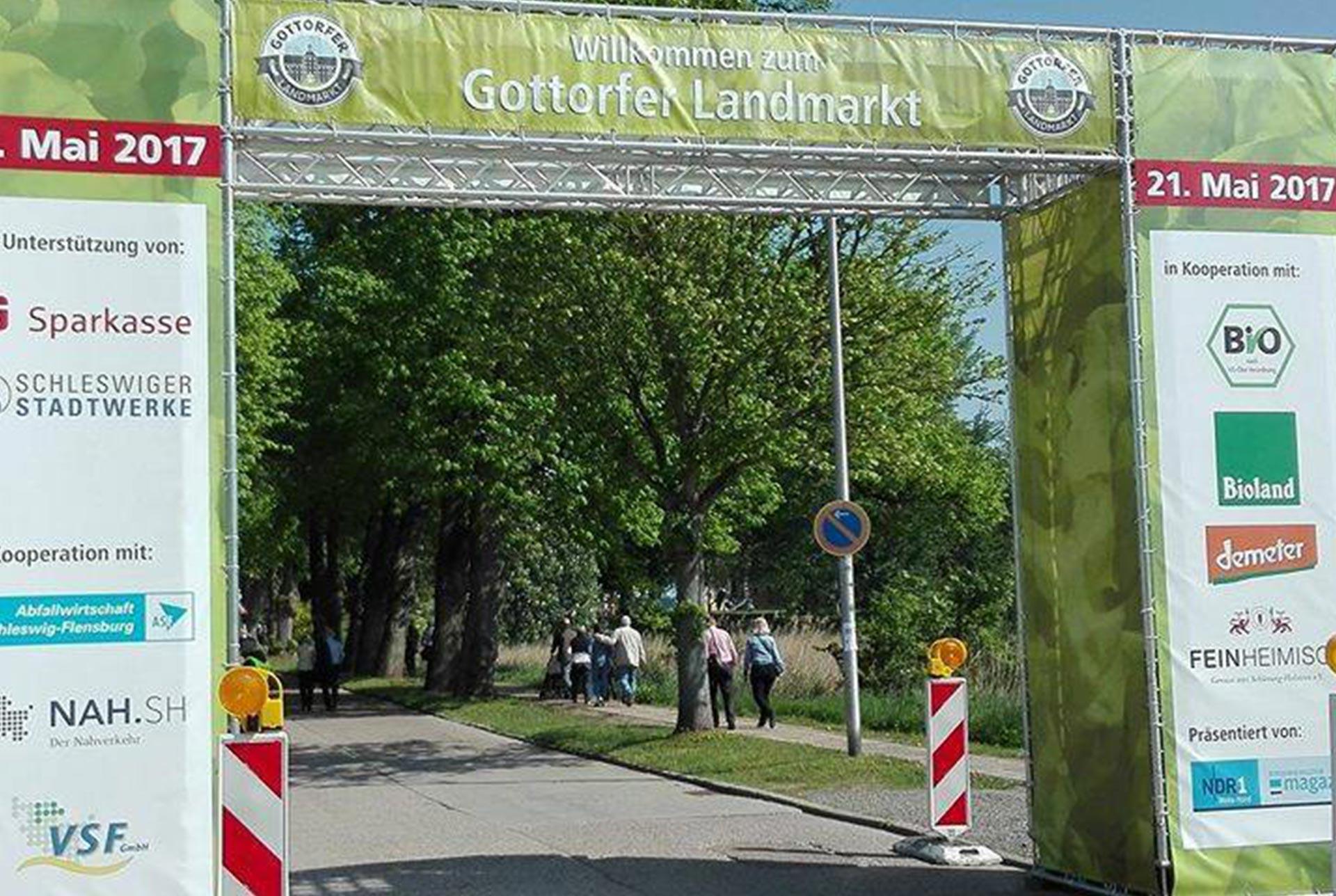 Gottorfer Landmarkt 2021